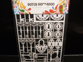 Dutch paper art - Keys