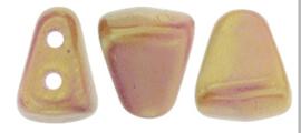 Nib-bit 6/5mm [loose] luster Metallic Pink -LKO3000