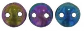 06-21495JT  Lentil Bead Iris Purple