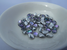 pip Beads 5x7mm Crystal Vitrail Light