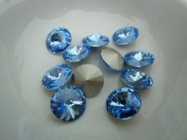 Swarovski Rivoli  10,5mm. [ss47]   71460 Light Sapphire.