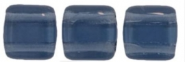 TilaBead 06-30330 Montana blue  6x6mm