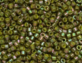0133-Opaque Olive Golden Luster