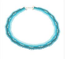 Kit Collier Loukkos- Turquoise  Argent