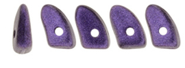 Prong bead 3/6mm [loose] Metallic Suede Purple - 79021JT