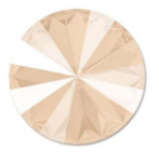 Rivoli 14mm- Crystal Ivory Cream Foiled