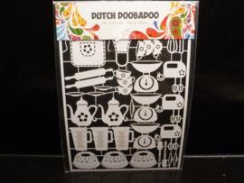 Dutch paper art - Baking