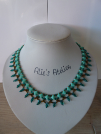 Collier Silfana  - Turquoise