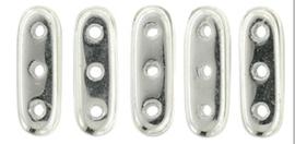 Czechmates Beam Beads 3/10mm [loose] Silver 27000cr