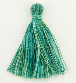Tassel- Groen gemeleerd