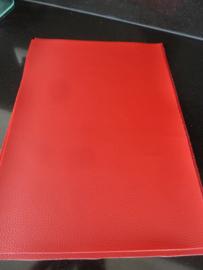 Dark Red Kunstleer -222