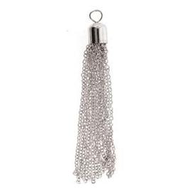 Tassel Metaal - Shiny Silver
