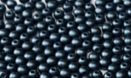 Round Beads - 25042    Pastel Montana Blue