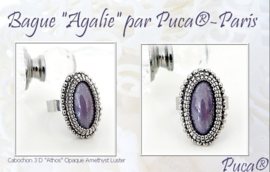 "Patroon Ring ""Agalie""   Par Puca®"