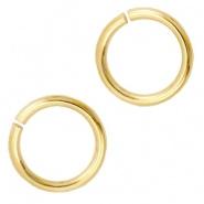 Ringetjes 6mm - DQ Gold Plated