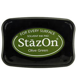 Stazon stempel inkt- Olive Green