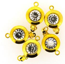 Sluiting  goudkleur 12mm-  11931