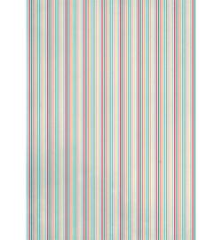 Achergrondpapier A4- colored stripes