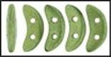 Crescent Beads- Saturated Metallic Sage  77042cr