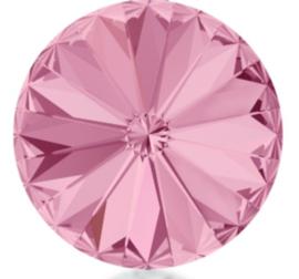 Rivoli 12mm- Rose Foiled