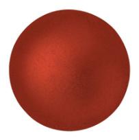 Cabochon 14mm ®ParPuca® Red Metallic mat