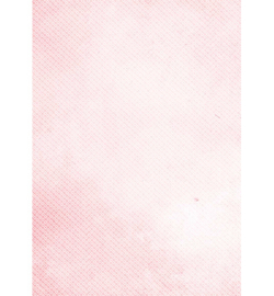 Achergrondpapier A4- white circles in pink