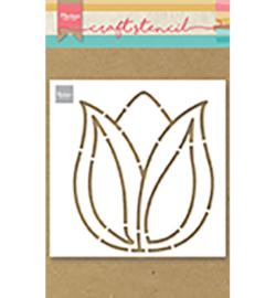 Craft stencil - Tulip - PS*)^)