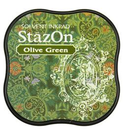 Stazon midi-Olive Green