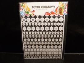 Dutch paper art - Buttons