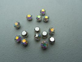 Montees 6mm- Crystal AB