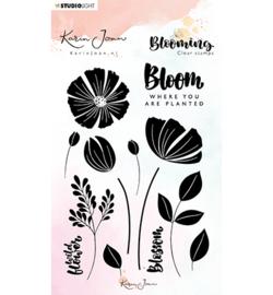 Silhoeut Stamp Bloom -KJ01