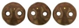 06- LZ23980  Lentil Bead  Dark Bronze