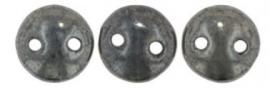 06-L23980  Lentil Bead Hematite
