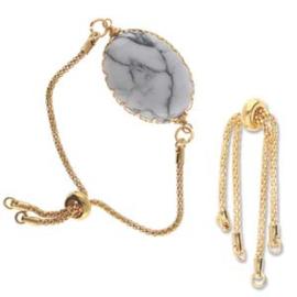 Bracelet End's - Gold Tone