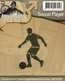 ADD10039  voetballer