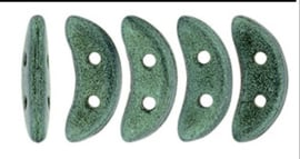 Crescent Beads Metallic Sueda Lt Green - 79051MJT