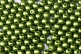 Round beads - 25034  Pastel Olivine
