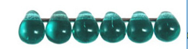 Tear Drop 4/6mm 60220  Teal