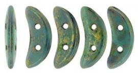 Crescent- Turquoise Bronze  Picasso LG63130
