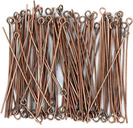 Kettelstift Brons 45mm