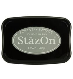 Stazon stempel inkt- Dove Gray