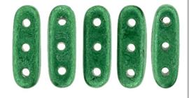 Czech mates Beam beads 3/10mm [loose] Saturated Metallic Lush Meadow 77051cr