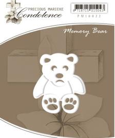 Pm10022  Condoleance - Memory Bear