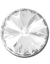 Rivoli 12mm- Crystal Foiled