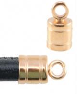 DQ metaal eindkap met oog  -25003 Rose Gold