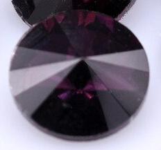 Rivoli 14mm- Purple Foiled