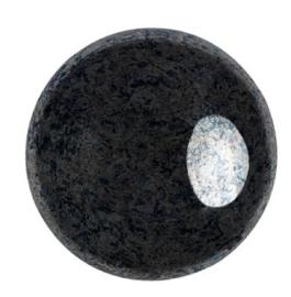 Cabochon 18mm ®Par Puca® - Jet Hematite