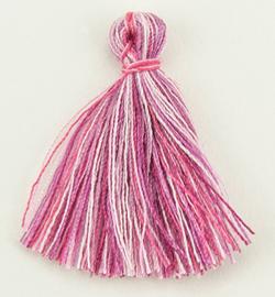 Tassels -Roze gemeleerd