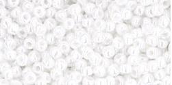 Toho 11-121 Opaque  luster white