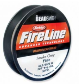 Fire line 6lb Smoke Grey, 45 meter